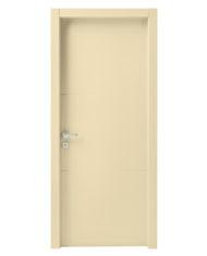 Křídlové dveře Scrigno – linea stipite RAL 1015