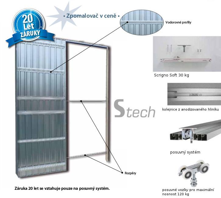 Technické parametry pro pouzdro do sádrokartonové příčky - Stavební pouzdro STech