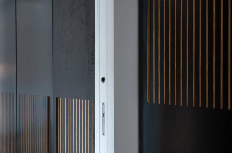 Essential – bezobložkové á stavební pouzdra pro posuvné dveře