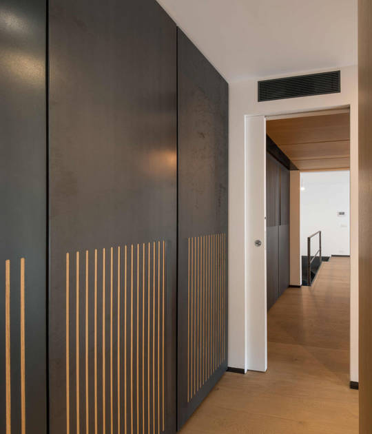 Essential – bezobložkové á stavební pouzdra pro posuvné dveře - Na3 studio