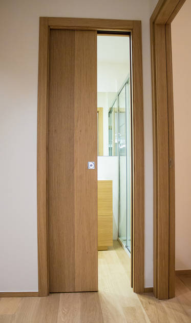 Essential dveře Společnost Scrigno pro komplex Parchitello Alta
